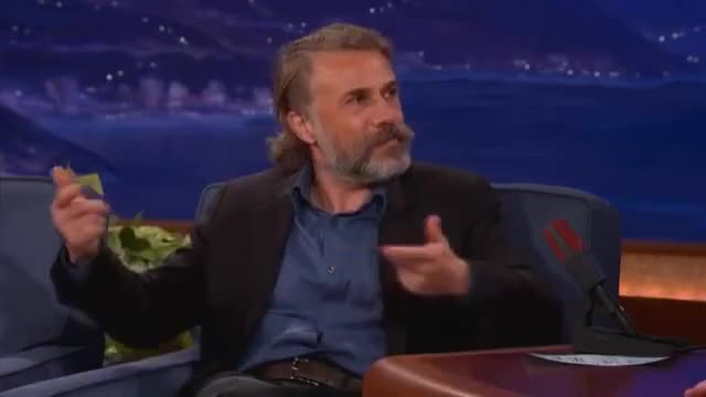 Watch this christoph waltz GIF by The Livery of GIFs (@thegifery) on Gfycat. Discover more christoph waltz, comparison, difference GIFs on Gfycat