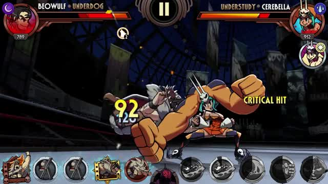 Watch Beowulf Preview (Hype Mode, Moonsault) GIF by Skullgirls Mobile (@sgmobile) on Gfycat. Discover more sgmobile, skullgirls GIFs on Gfycat