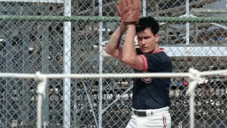 Watch this baseball GIF on Gfycat. Discover more baseball, charlie sheen, unbgbbiivchidctiicbg GIFs on Gfycat