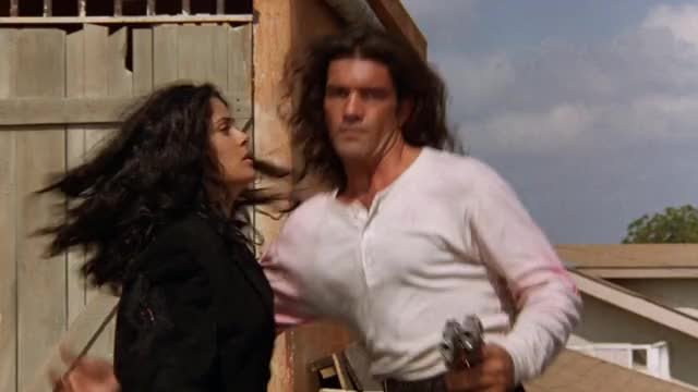 Watch and share Antonio Banderas GIFs and Salma Hayek GIFs by MikeyMo on Gfycat