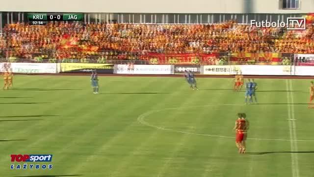 Kruoja 0:1 Jagiellonia: įvartis (UEFA Europa League