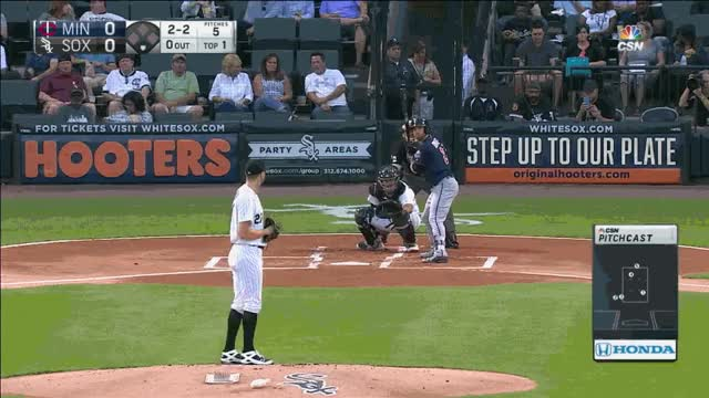 Watch and share Giolito FB HBP Dozier 1st GIFs on Gfycat