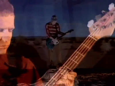 fLEA - Under The Bridge (Official Music Video) GIFs