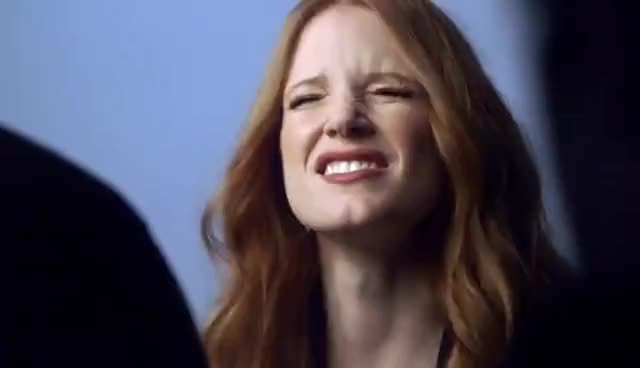 jessica chastain, 7 Secrets - Jessica Chastain - Variety Power of Women Cover Shoot GIFs