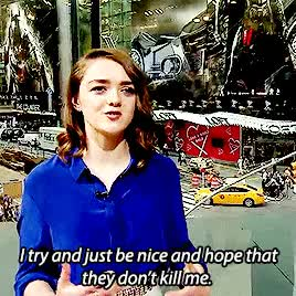 Watch this maisie williams GIF on Gfycat. Discover more game of thrones, got, got cast, gotedit, maisie williams, my gifs GIFs on Gfycat