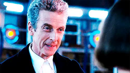 Watch and share I Love His Smile GIFs and Peter Capaldi GIFs on Gfycat