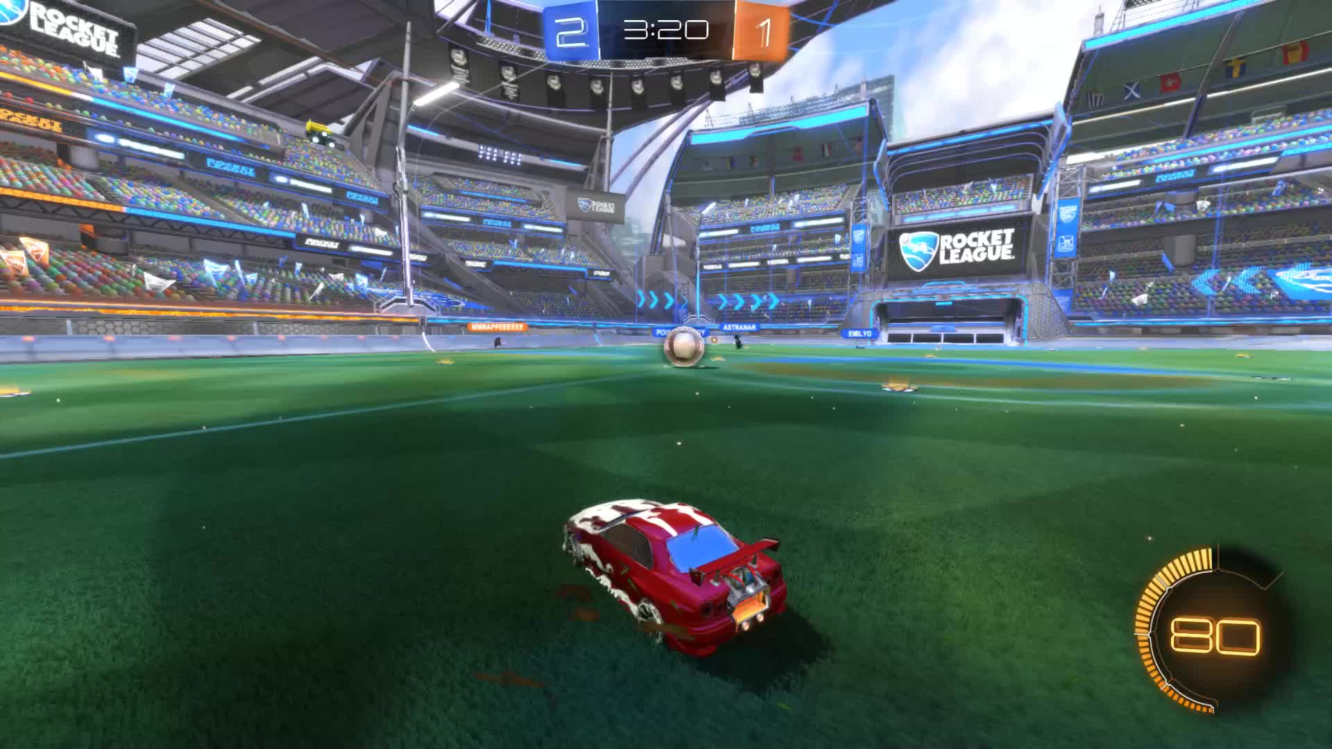 Gif Your Game, GifYourGame, Rocket League, RocketLeague, SCOTLAND FOREVER, Goal 4: SCOTLAND FOREVER GIFs