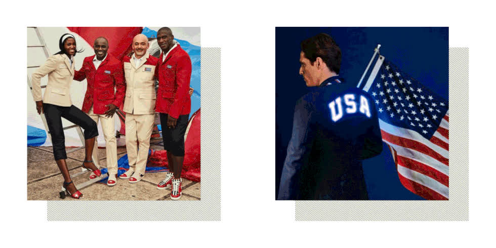 The 2016 Olympics Kits and Outfits We'd Happily Wear GIFs
