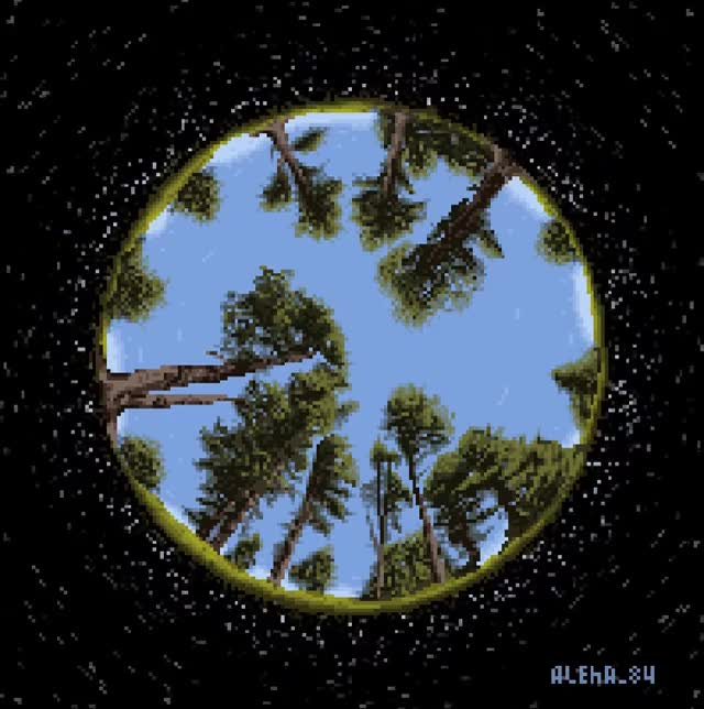 Watch and share Forest Sphere 01 GIFs by Aleksey on Gfycat
