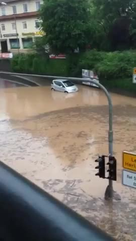 Watch WCGW - Mercedes vs. Flood GIF on Gfycat. Discover more Expected, expected GIFs on Gfycat
