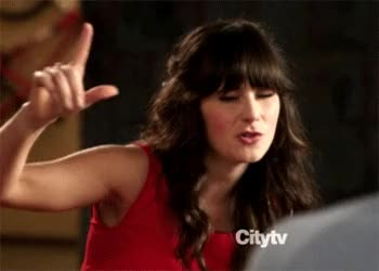 Watch and share Zooey Deschanel GIFs and Dope GIFs by Reactions on Gfycat