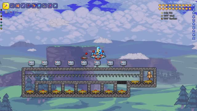 Watch and share Terraria Dummy Cycle GIFs on Gfycat