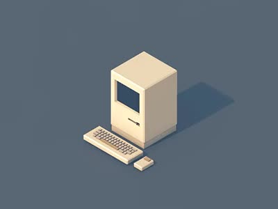 Watch and share Old School Computer By Renatorena GIFs on Gfycat
