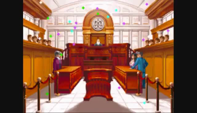 Watch and share Phoenix Wright: Ace Attorney - Ep. 2, Part 14: Not Guilty! GIFs on Gfycat