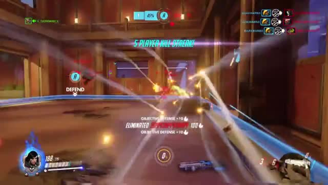 Watch part-time bullfighter... GIF on Gfycat. Discover more Overwatch, ps4share, sony interactive entertainment GIFs on Gfycat