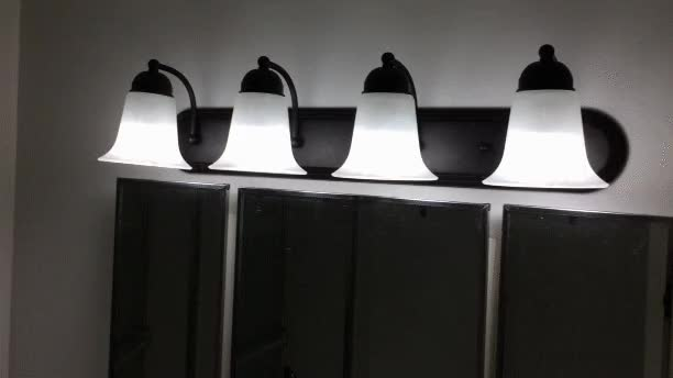 Watch and share 4-Light-Bathroom-Vanity-Light-Fixture-in-Oil-Rubbed-Bronze-with-Frosted-Glass-Shades GIFs by Home Renovation Deals Canada on Gfycat