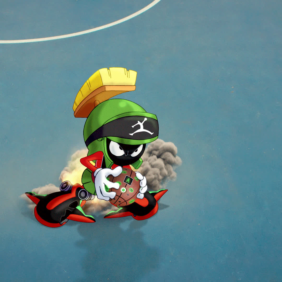 basketball, looney tunes, marvin the martian,  GIFs