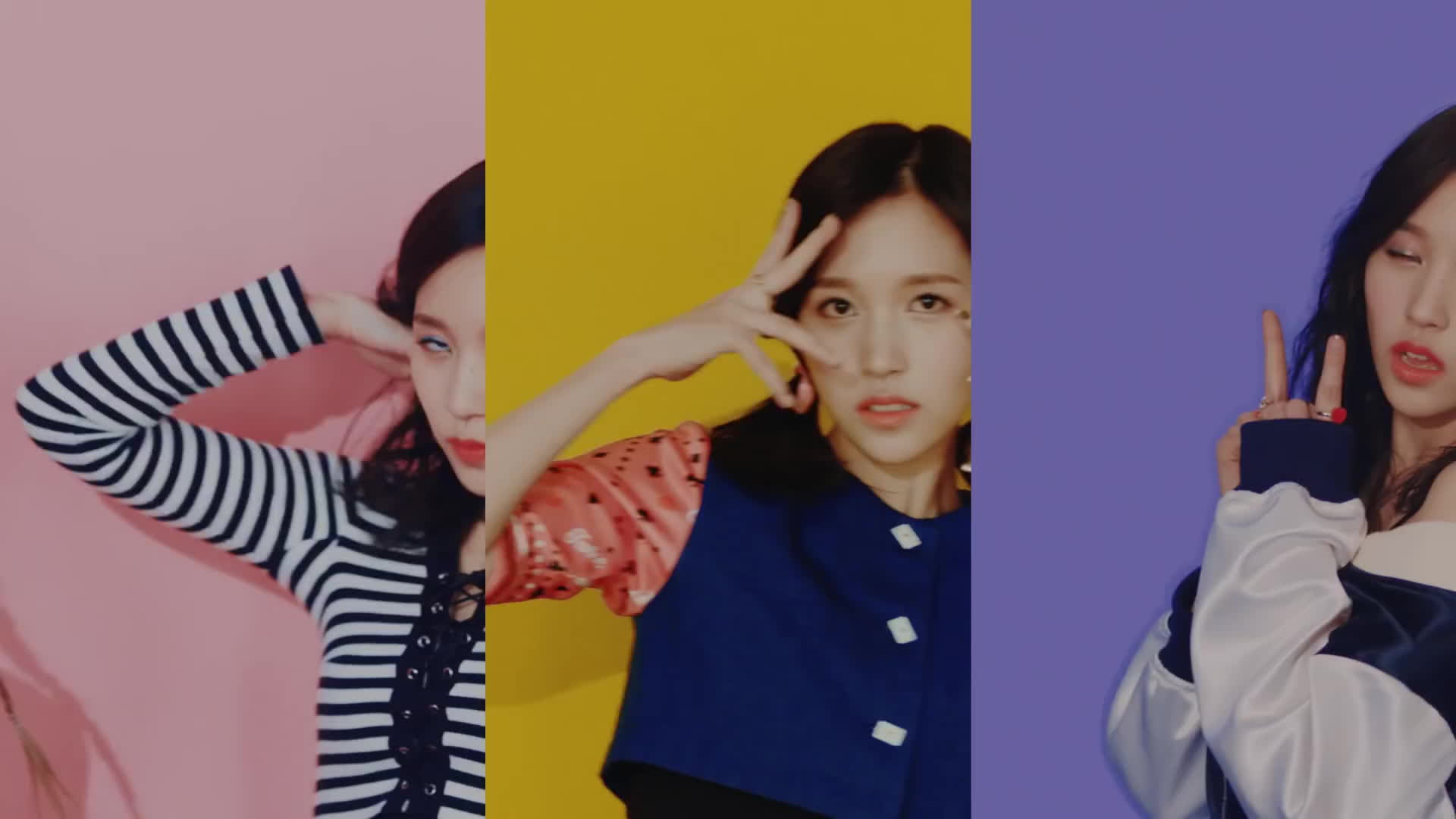Twice, kpop, mina, twice knock knock, 트와이스 낙낙, Mina Twice Knock Knock Triple GIFs