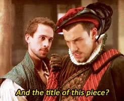 Watch and share Shakespeare In Love GIFs and William Shakespeare GIFs on Gfycat
