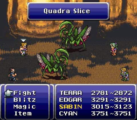 Watch and share Vgjunk:  Final Fantasy VI, SNES. GIFs on Gfycat