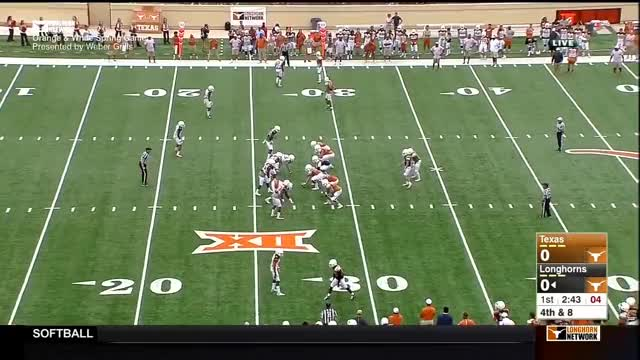 Watch Texas Longhorns: Orange-White Spring Game [April 16th, 2016] GIF on Gfycat. Discover more football, longhornnation, longhorns GIFs on Gfycat