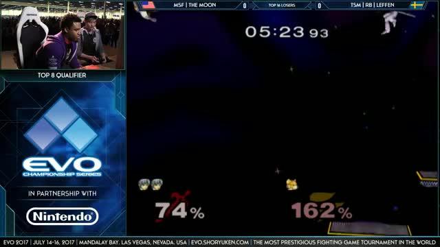 Leffen vs. The Moon tech Evo 2017