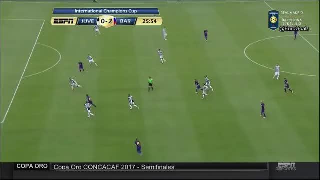 Juventus 0-2 Barcelona - Neymar 26' (International Champions Cup) AA/Replays