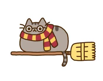 Watch and share Transparent Cat Harry Potter Gif GIFs on Gfycat