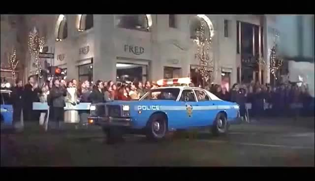 Watch and share Statue Of Liberty Stomps A Police Car (© Columbia Pictures) GIFs on Gfycat