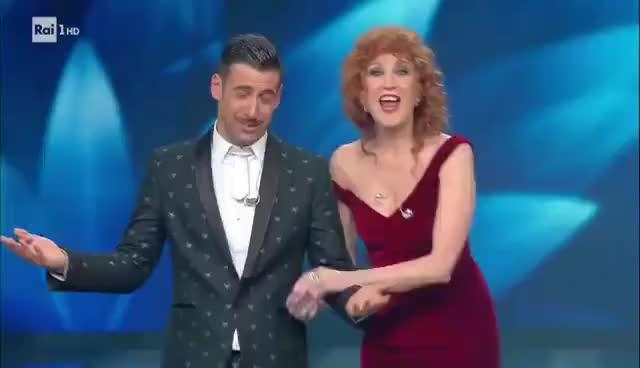 Watch Sanremo 2017 - Il vincitore è Francesco Gabbani con 'Occidentali's Karma' GIF on Gfycat. Discover more related GIFs on Gfycat