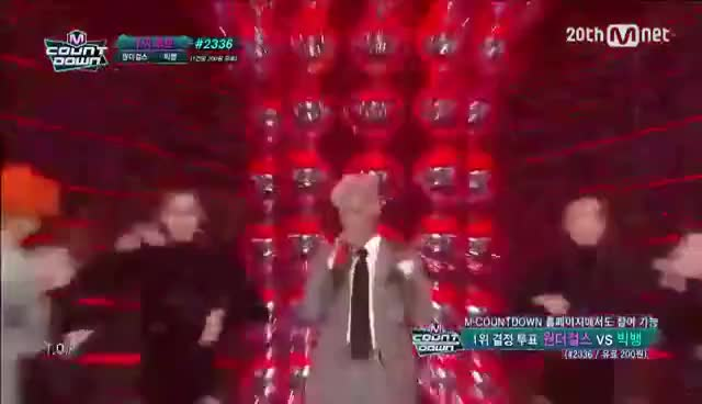 Watch and share GD&T.O.P - 'ZUTTER(쩔어)'!  M COUNTDOWN 150820 EP.439 GIFs on Gfycat
