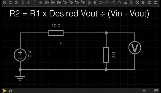 Voltage Dividers - Electronics Basics 12 GIFs
