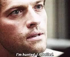 Watch and share Dean Winchester Gif GIFs and Castiel Novak Gifs GIFs on Gfycat