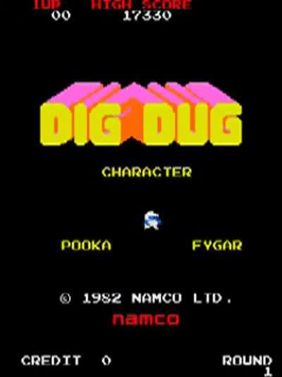 Watch and share Dig Dug GIFs on Gfycat