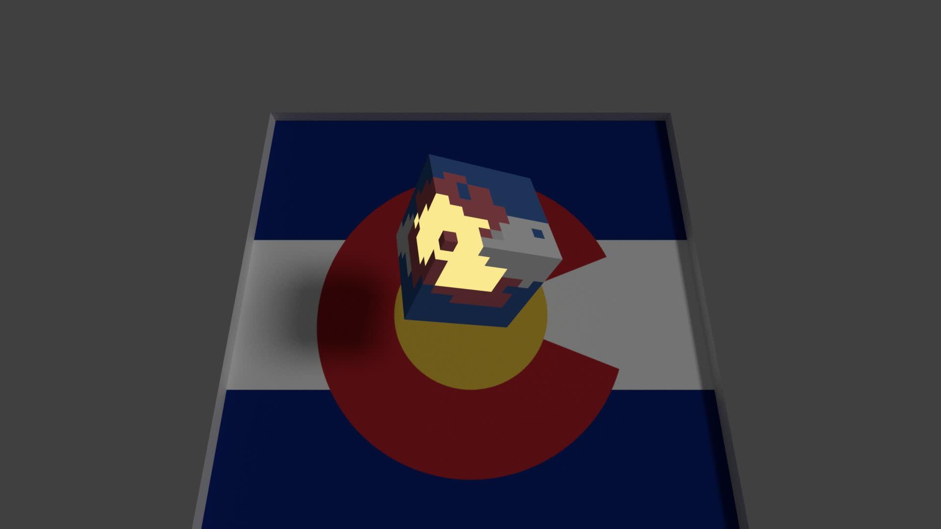 colorado, Colorado cubes GIFs