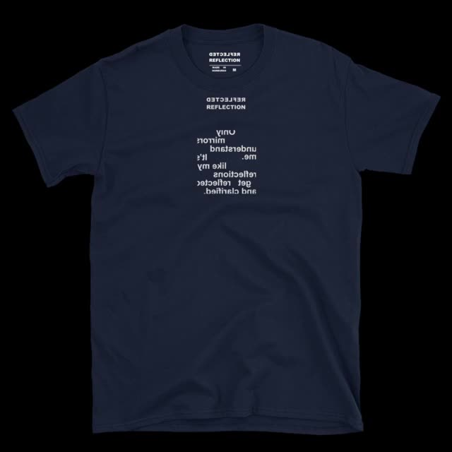 Watch and share Understand T-shirt Navy GIFs on Gfycat
