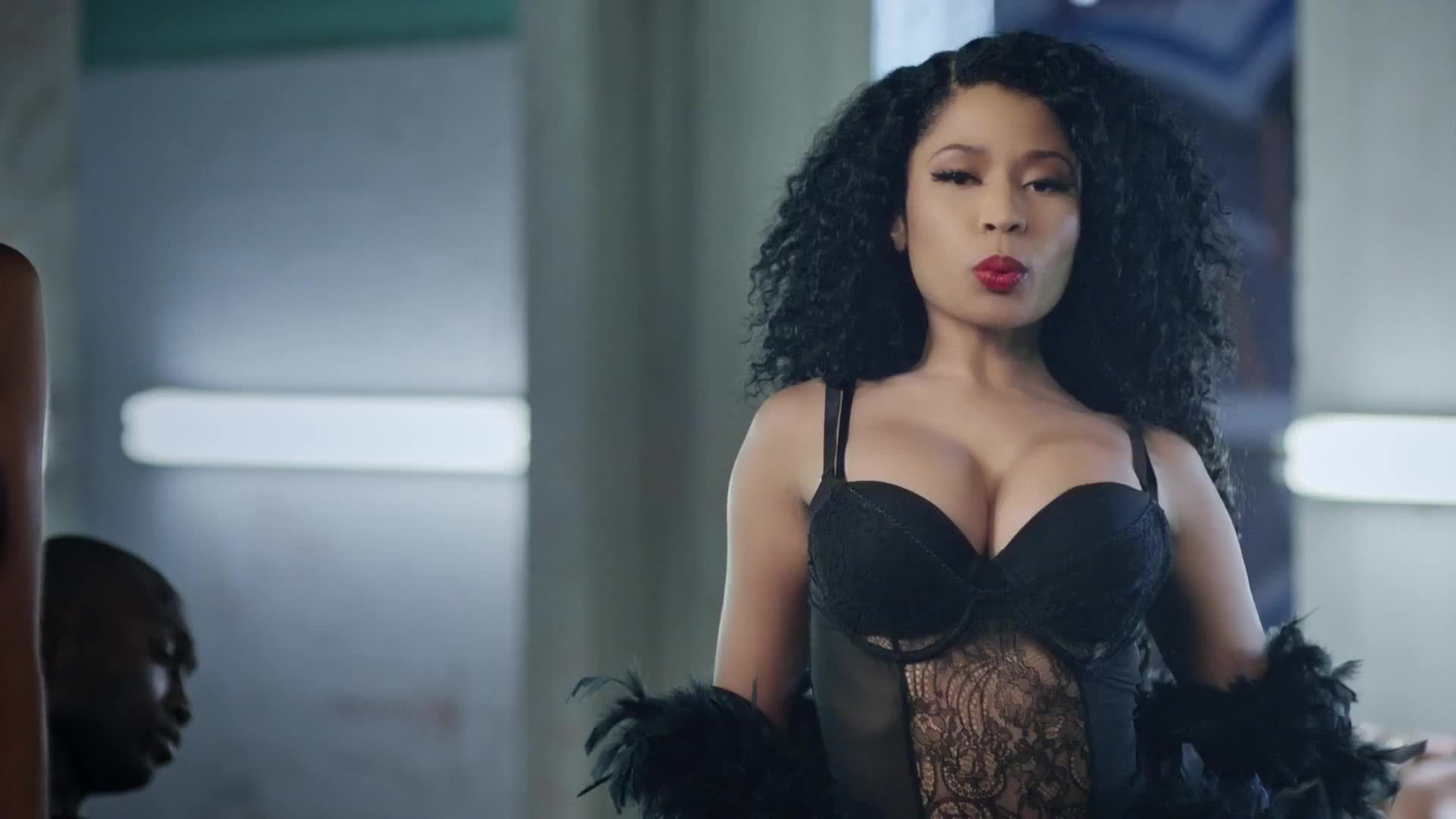 Nicki_Minaj, boobs, music, music video, nicki minaj, nicki_minaj, twerk, watchitfortheplot, Nicki Minaj in 'Nicki Minaj - Only' GIFs