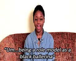 Watch and share Michaela Deprince GIFs and Black Ballerinas GIFs on Gfycat
