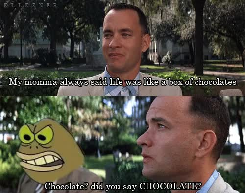 Watch and share Forest Gump Spongebob Gif GIFs on Gfycat