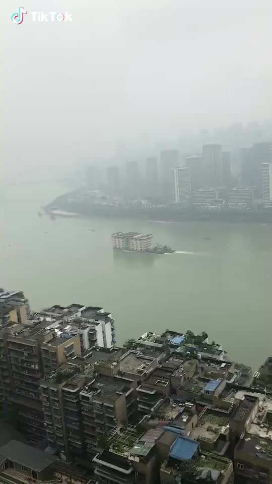 Watch and share A Building Moving On The River GIFs by radiantemployment on Gfycat