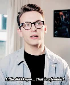 Watch and share Jack Howard GIFs and Feminism GIFs on Gfycat