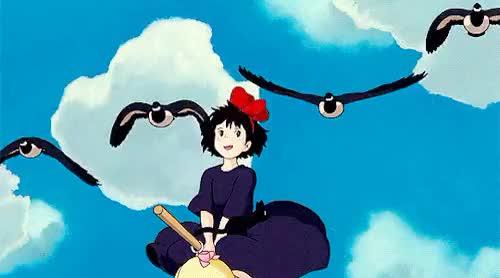 Watch and share Studio Ghibli GIFs and Mine GIFs on Gfycat