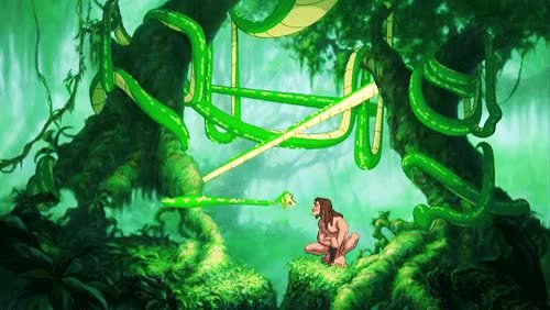 Watch this GIF on Gfycat. Discover more Disney, Disney Quotes, dream, dschungel, i love disney, jane, love disney, monkey, snake, tarzan, walt disney GIFs on Gfycat