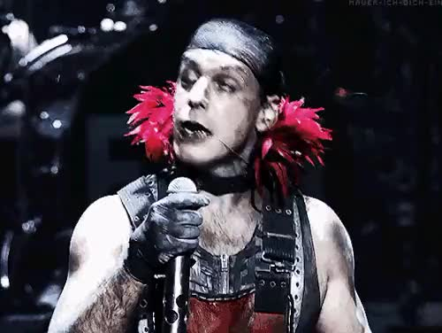 Watch SorryNot sorry(  ) GIF on Gfycat. Discover more Hue hue hue, Rammleid, Rammstein in Amerika, Till Lindemann, live, mide edit, rammstein GIFs on Gfycat