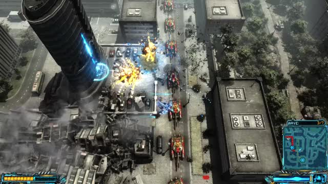 Watch X-Morph: Defense - Destructible skyscraper in Canada GIF by EXOR Studios (@exorstudios) on Gfycat. Discover more co-op, explosions, game, shooter, towerdefense, xmorphdefense GIFs on Gfycat