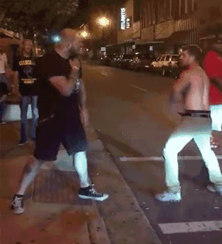 Punching a bouncer • r/Whatcouldgowrong GIFs