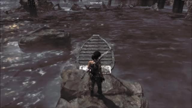 Watch and share Gamephysics GIFs and Tomb Raider GIFs by sandyballs on Gfycat