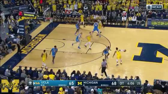Watch and share Charles Matthews GIFs and Zavier Simpson GIFs by MGoBlog on Gfycat