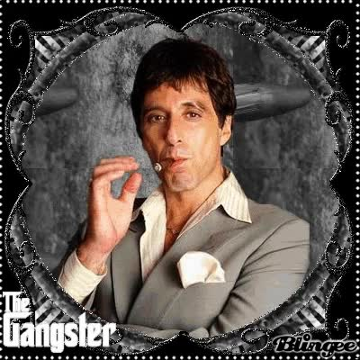 Tony Montana Say Hello To My Little Friend Gif Find Make Share