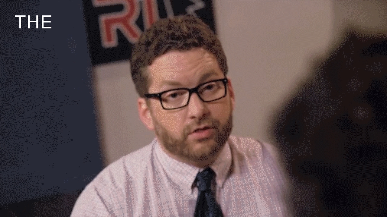 noisygifs, roosterteeth, Since they talked about insane gifs on the newest RT podcast, here's my insane(ish) gif of Burnie's freakout from The Gauntlet! (reddit) GIFs